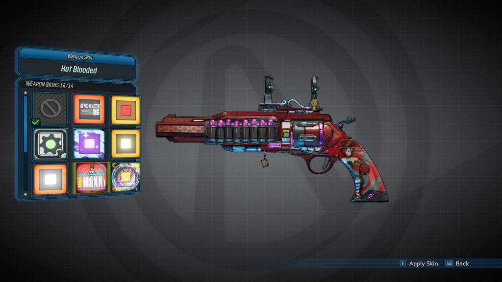 Hot Blooded - Weapon Skins