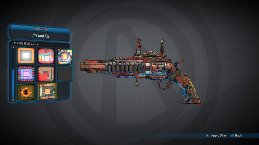 Ink and Kill - Weapon Skins