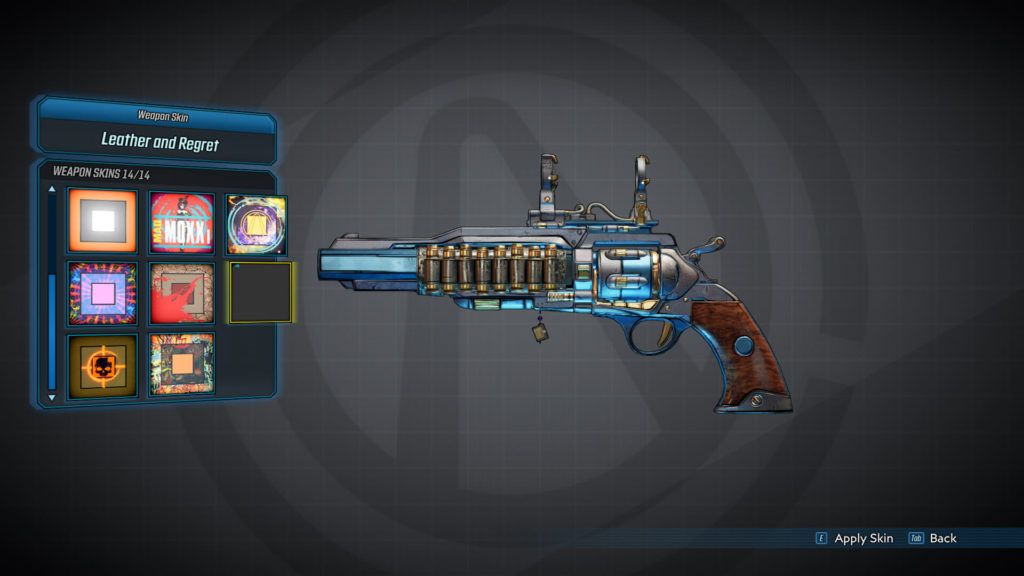 Leather and Regret - Weapon Skins