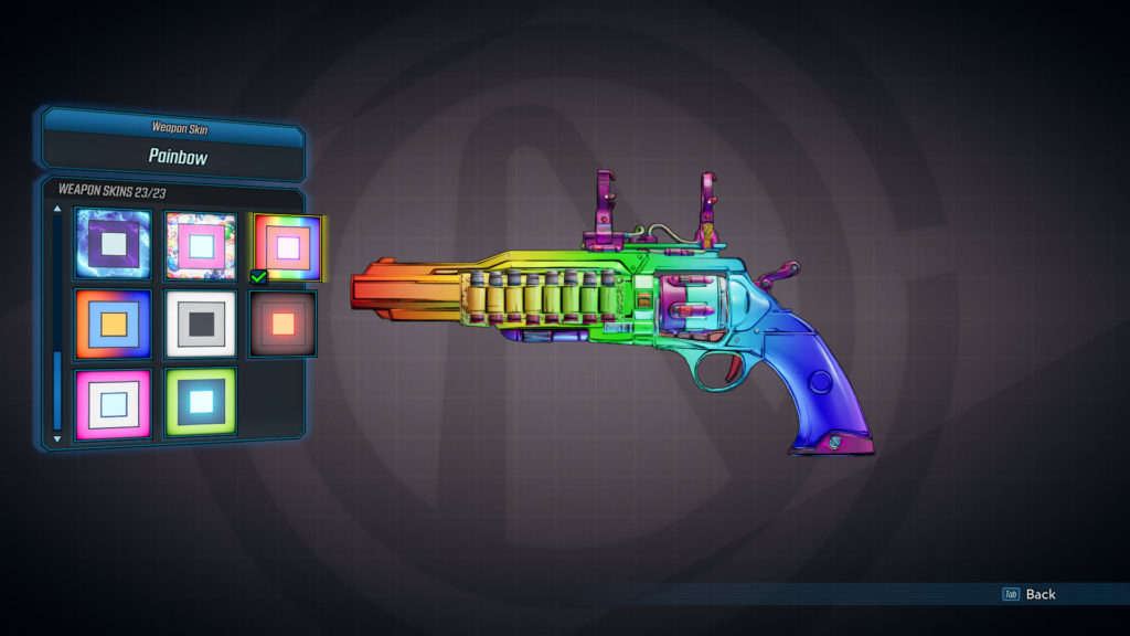 Painbow - Weapon Skins