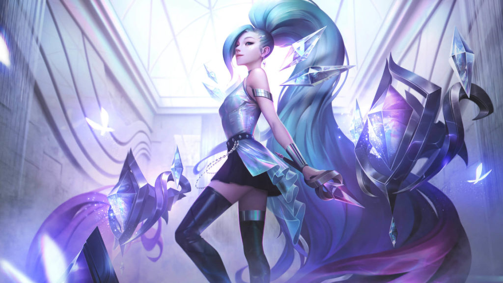 KDA All Out Seraphine Rising Star
