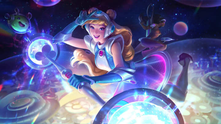 Space Groove Lux Skin